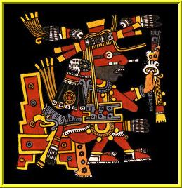 Xiuhtecuhtli Xiuhtecuhtli Aztec God Of Fire